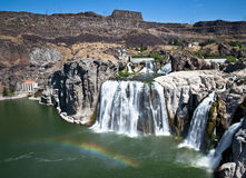 Shoshone waterfall Stock Photo