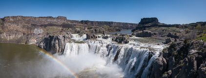 Shoshone Waterfall Idaho royalty free stock images