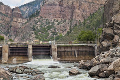 Shoshonee Dam on Colorado RIver Stock Photos
