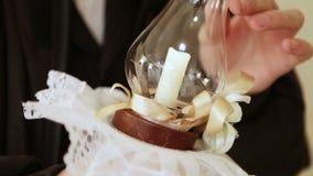 Shoshvinim candles stock footage