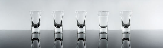 Shot of alcohol Stock Photography