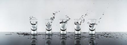 Shot of alcohol Stock Image