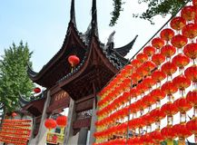 Ancient Chinese temple pagoda castle. Shot of Ancient Chinese temple pagoda castle Royalty Free Stock Photos