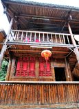 Ancient Chinese temple pagoda castle. Shot of Ancient Chinese temple pagoda castle Stock Photo