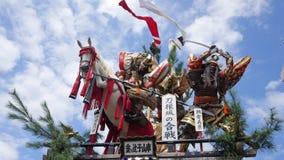 Ancient Japanese samurai shrine. Shot of ancient Japanese samurai shrine Royalty Free Stock Images