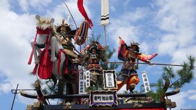 Ancient Japanese samurai shrine. Shot of ancient Japanese samurai shrine Stock Photography