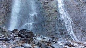 Battle Creek Falls. A shot of Battle Creek Falls panning from the bottom up stock video