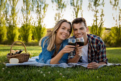 Just us and a Picnic Royalty Free Stock Images