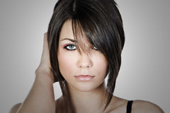 Shot of a Beautiful Teen Model. Close Up Shot of a Beautiful Teen Model Royalty Free Stock Photo