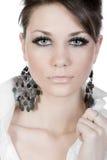 Shot of a Beautiful Teenage Girl Stock Images