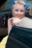 Shot of beautiful woman Stock Images