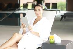 Enjoy spa day Royalty Free Stock Photo