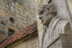 Shot of bust of Luther in Coburg, Bavaria Royalty Free Stock Photo