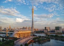 Canton tower in Guangzhou, China stock image