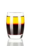 Shot cocktail collection: Cockroach Royalty Free Stock Images
