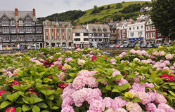 A Shot of Dartmouth Parish, Devon, England Stock Image