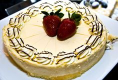 Shot of delicious dessert, fruits & cakes Royalty Free Stock Images