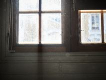 Shot of a window with light coming in royalty free stock photography