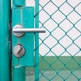 Shot of door nob. Closeup shot of door nob Stock Photos