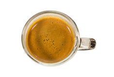 Shot of espresso coffee Stock Image