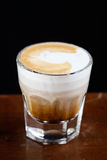 Shot of expresso with foam Stock Images