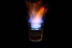 Shot on fire Stock Photos