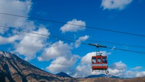Ropeway to nikko Japan world hesitage stock images