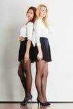 Shot of full length ladies. Stock Images