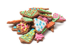 Shot of gingerbreads Royalty Free Stock Photography