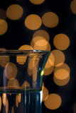 Shot glass bokeh Stock Images