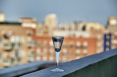 Shot glass Royalty Free Stock Images