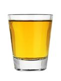 Shot glass of whiskey Stock Images