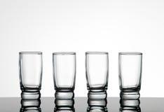 Shot glasses Stock Photography