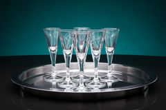 Shot glasses Royalty Free Stock Photo