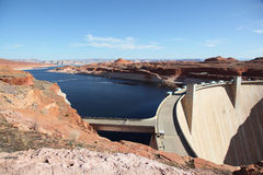 Lake Powell 2. Shot at the Glen Canyon Dam tourist center Stock Image