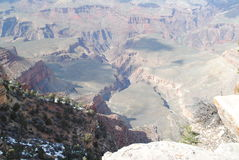 Grand Canyon in Spring Royalty Free Stock Photo