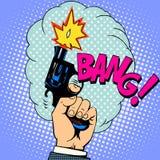 Shot gun bang Royalty Free Stock Photography