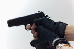 The shot gun Royalty Free Stock Photos