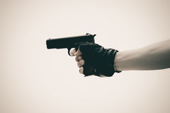 The shot gun Royalty Free Stock Images