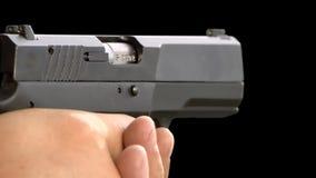 Shot gun stock video