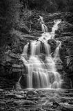 Shot of high waterfall Stock Images