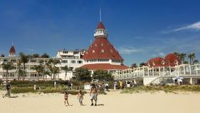 A Shot of the Hotel del Coronado Royalty Free Stock Photography