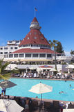 A Shot of the Hotel del Coronado Royalty Free Stock Images