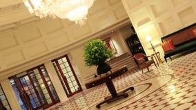 Shot of interior view of Hotel Amar Villas, Agra, Uttar Pradesh, India stock video