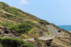 Kalanianaole Highway Royalty Free Stock Image