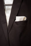 Shot of a man dressed in formal wear .Groom's suit Stock Photography