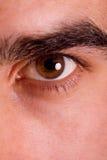 Shot of man's eye Stock Images
