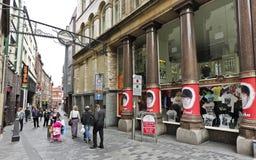 A Shot of Mathew Street and Cavern Pub Royalty Free Stock Photo