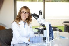 Scientific discovery Stock Images