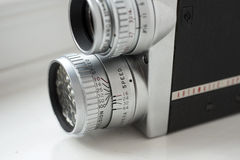 16mm vintage film camera Royalty Free Stock Photos